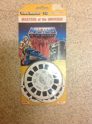 Viewmaster 3D Masters Of The Universe Discs
