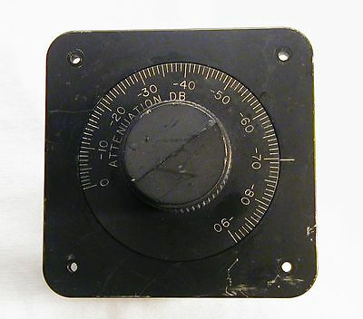 Weinschel 9212 Continuously Variable Attenuator, 0 to -90 dB, checked.