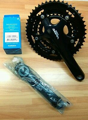 Shimano Sora 3503 Triple road groupset, levers, Mechs and Chainset