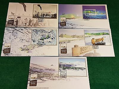 Stamps - First Day Cover Set - Ross Base Antarctica - (#Y077)