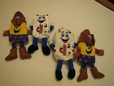 Hostess Twinkie and Freddy bean bag plush toys