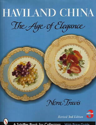 HAVILAND FRENCH CHINA / PORCELAIN Collectors Guide HB w/ 400+ Color Photographs