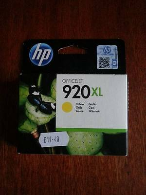 HP920 XL Yellow GENUINE
