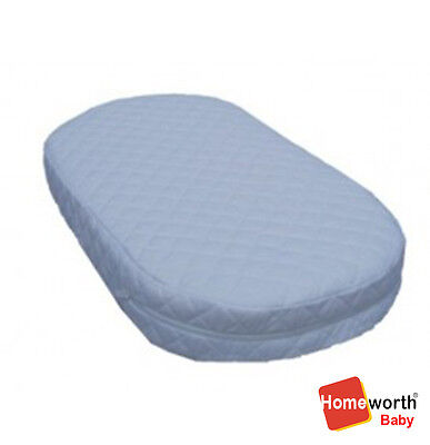 HEAVENLY DREAM AIR FLOW B1 DELUXE CRADLE BASSINET MATTRESS REMOVABLE 69x34x10 CM
