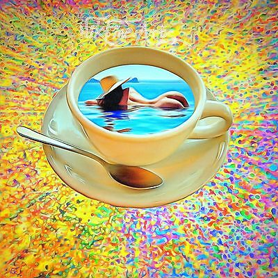 Nik Tod Recreated From Original Painting Large Sign Art The Woman In Your Coffee