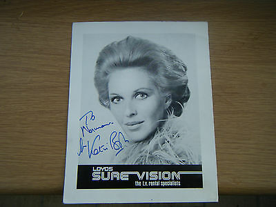 autographed photo Katie Boyle