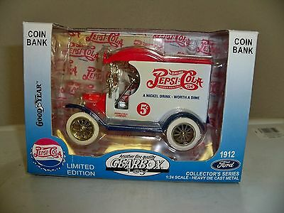 Limited Edition 1912 Pepsi Truck Coin Bank