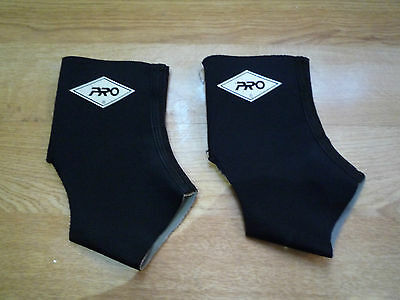 Pair of 2 PRO USA Knee Supporter Training Protector Black