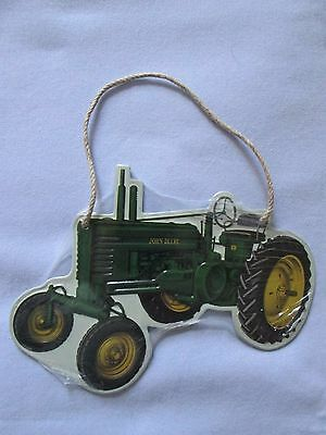 "John Deere Mini Metal Sign 5.66"" x 6.22"" NIP"