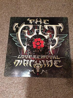 """The Cult - Love Removal Machine Vinyl 12"""" 1987 Electric Love She Sells Sanctuary"""