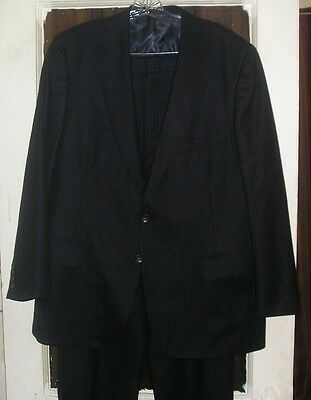 USA Made Mens Wool Suit by Ralph Lauren Chaps 44R