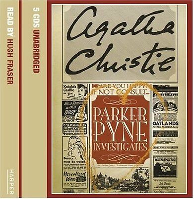 Parker Pyne Investigates Book by Christie Agatha CD-Audio