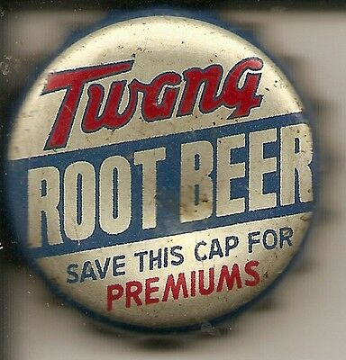 TWANG ROOT BEER save cap for premiums soda pop bottle caps/crowns