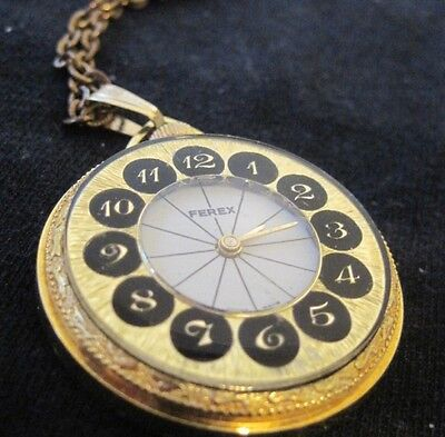 Vintage Watch Pendant made in Swiss