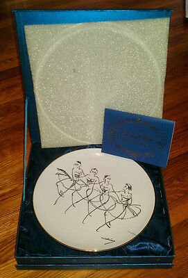 Commemorative plate from Olympic artist, Ching Shyu