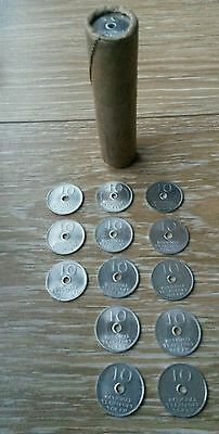 National Transport Tokens 10p