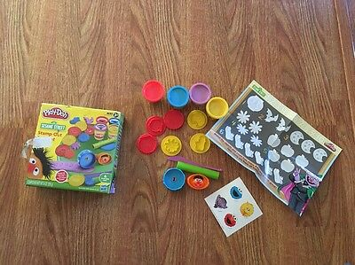 Sesame Street Playdoh Stamp Out & Count RARE HTF Toy