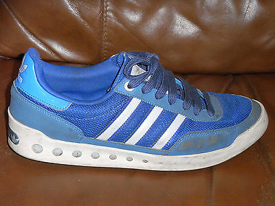 Adidas PT's Trainers - Blue & Grey - Size 8 UK Adult - 2014 - PT - LOOK