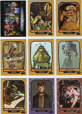 Star Wars Galactic Files Series  2 Complete 350 Base Set Topps - 2013