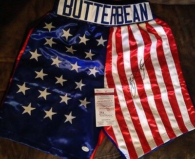 Autographed Butter Bean Boxing Shorts