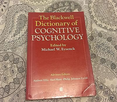 The Blackwell Dictionary of Cognitive Psychology by John Wiley and Sons Ltd (Pa…