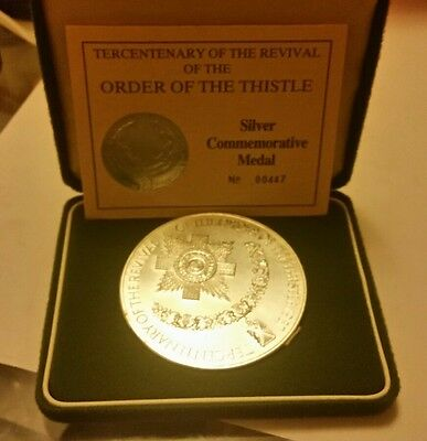 5oz silver coin order of the thistle