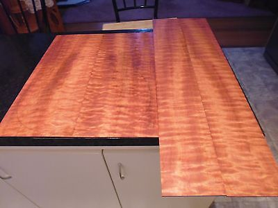 Exotic CRAFT-N-TONE G96) WATERFALL QUILTED SAPELE  Luthier Tonewood or Craftwood