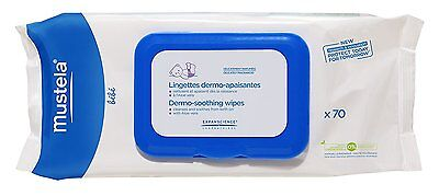 Mustela Delicately Scented Dermo Soothing Wipes