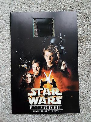 Star Wars Episode III Revenge Of The Sith Mounted Film Cell