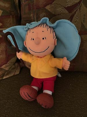 """Charlie Brown Talking Plush Doll """"what Christmas Is All About"""" Hallmark"""