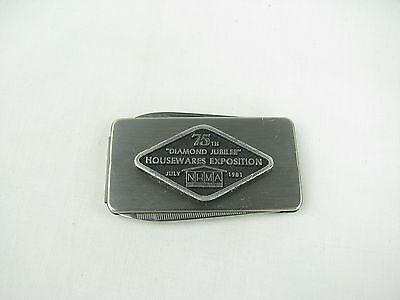 Housewares Exposition Diamond Jubilee 75th 1981 Imperial Money Clip Knife