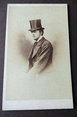 Scotland GLASGOW CDV c1870s of a man with Hat by Stuart