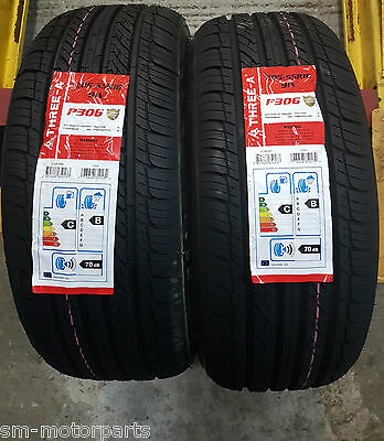 X2 New Tyres 205 55 R16 91V Three A Amazing B Wet Grip FULLY FITTED 2055516 AAA
