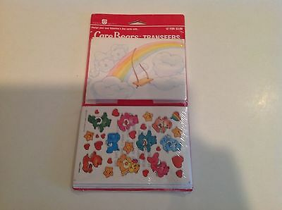 Vintage Care Bear Transfer Sticker Sets American Greetings Corp