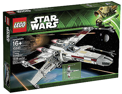 BRAND NEW Lego Star Wars 10240 UCS Red Five X-Wing  FREE POSTAGE