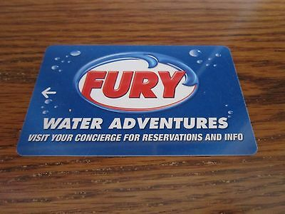Hotel Key Card Key West FL Taxi Fury Water Adventures Collectible FREE SHIP