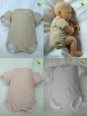 """Reborn Doe Suede Bodies  **3/4 Arms And Front Loading Legs**   Sizes 14"""" - 22"""""""