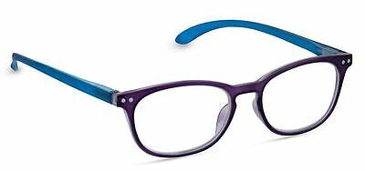 NEW Peepers Reading Glasses Strength +2.25 Glee Purple & Teal - Free Shipping!