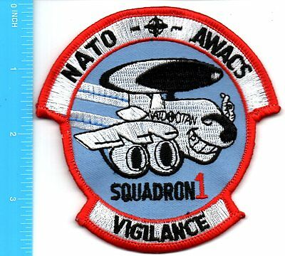 Embroidered Patch - Nato Awacs Squadron 1