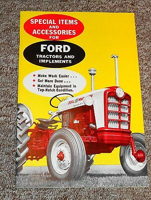 Vintage Ford Tractor and Implements Catalog 23 Pages Take a LOOK !!!!!!!!!!!!!!!