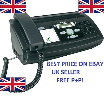 Philips Thermal Transfer Fax Machine Magic 5 TAM/SMS Text PPF675 FREE P+P