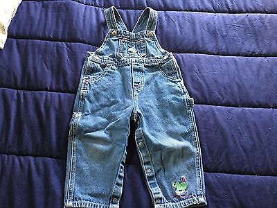Carter's Baby Boy Overalls Size 18-24 Months EUC