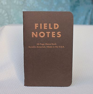 Field Notes Traveling Salesman Edition (Fall 2012) Single Notebook