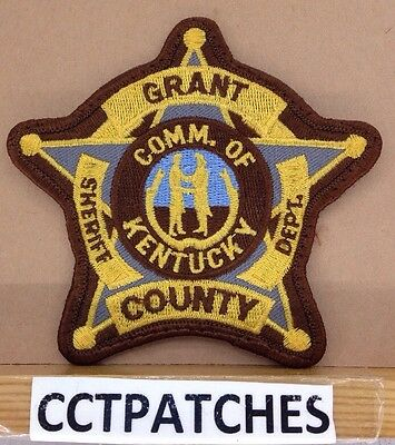 Grant County, Kentucky Sheriff (Police) Shoulder Patch Ky