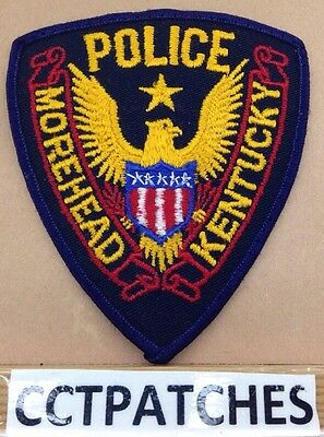 Morehead, Kentucky Police Stock Eagle Shoulder Patch Ky