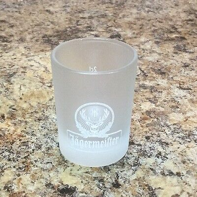 Jagermeister Frosted Shot Glass - 2 CL