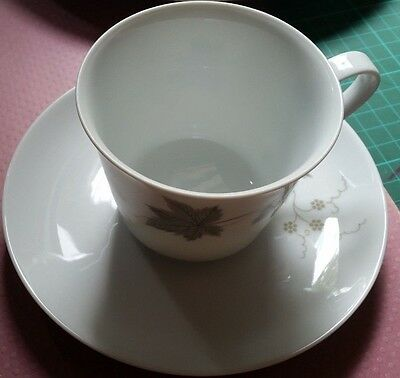 Noritake 'wild Ivy' Vintage Cup And Saucer