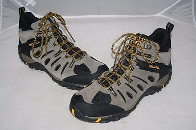 3029715f6a6 New Merrell Onvoyer Boulder Old Gold Mid Hiking Boots Waterproof Mens 9