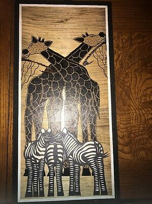 Hand Made Artwork From Africa