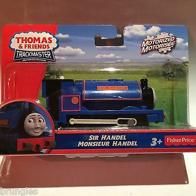 Sir Handel Handle Trackmaster Engine Train Fisher Price Thomas Tank Engine Track